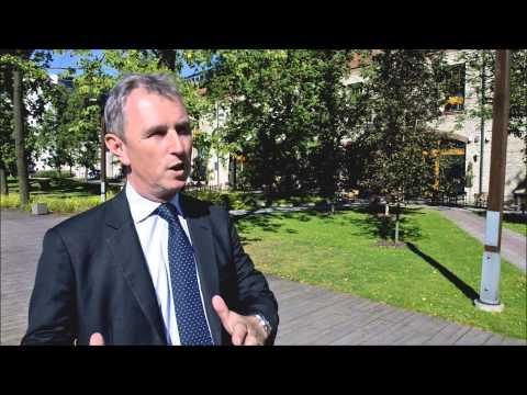 Interview with British MP Mr Nigel Evans