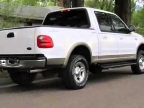 used 2001 ford f 150 supercrew crew cab lariat truck for sale colorado springs co youtube. Black Bedroom Furniture Sets. Home Design Ideas