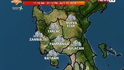 BT: Weather update as of 12:22 p.m. (July 10, 2019)