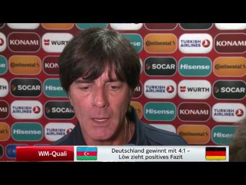Joachim Löw post-match Interview 2 (SSN) -  Aserbaidschan vs Deutschland 26/03/17