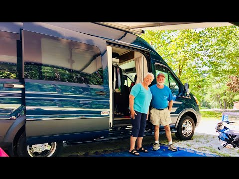 VANLIFE SIX MONTHS ON THE ROAD | Tour of Coachmen Crossfit Beyond Ford Transit Campervan