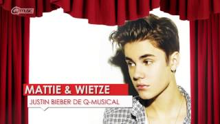 justin bieber de q musical mattie wietze q music