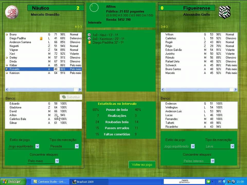 brasfoot 2009 com registro gratis para