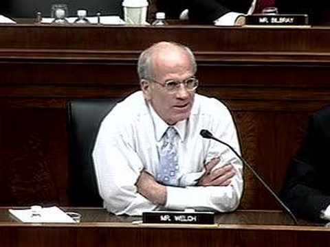 Peter Welch interrogates on White House influence over EPA