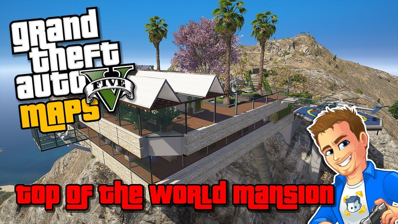 Gta 5 map editor maps top of the world mansion gta 5 custom gta 5 map editor maps top of the world mansion gta 5 custom map for map editor gta 5 pc mod gumiabroncs Images