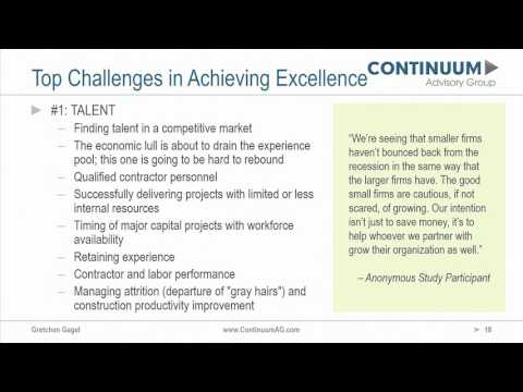 Top Challenges in Achieving Excellence | 2017 CURT Owner Trends Study
