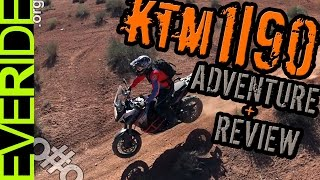 NEW KTM 1190 ADVENTURE Review, Drag Race, & First Ride Impressions o#o
