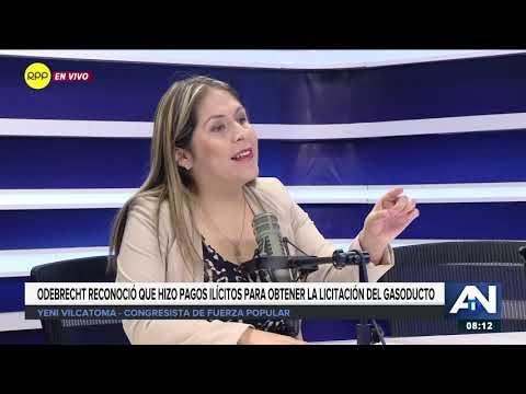 Vilcatoma: Al haber mentido, el acuerdo con Odebrecht no se puede salvar y se tiene que revocar 1/2