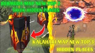 BERMUDA MAP NEW TOP 2 HIDDEN PLACES / KALAHARI MAP NEW TOP 3 HIDDEN PLACES GAMING DHEENA