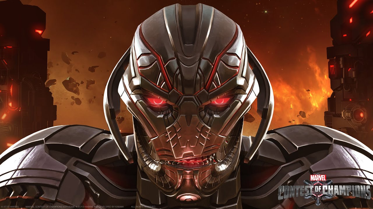 ultron comes to marvels contest of champions hd youtube