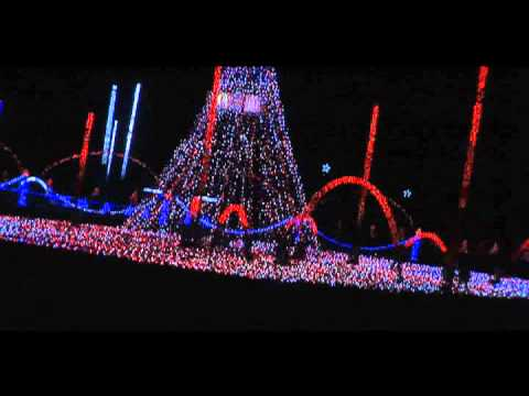 Christmas Light Displays in Baton Rouge