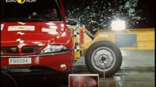 Euro NCAP   Lancia Ypsilon   2000   Crash test