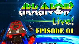 Arkanoid Live - Xbox 360 - Episode 01 (Longplay)