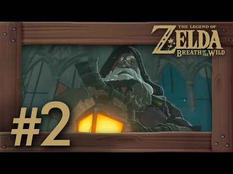 Zelda Breath of the Wild Walkthrough Part 2 | Paraglider & Backstory (Switch Gameplay) No Commentary