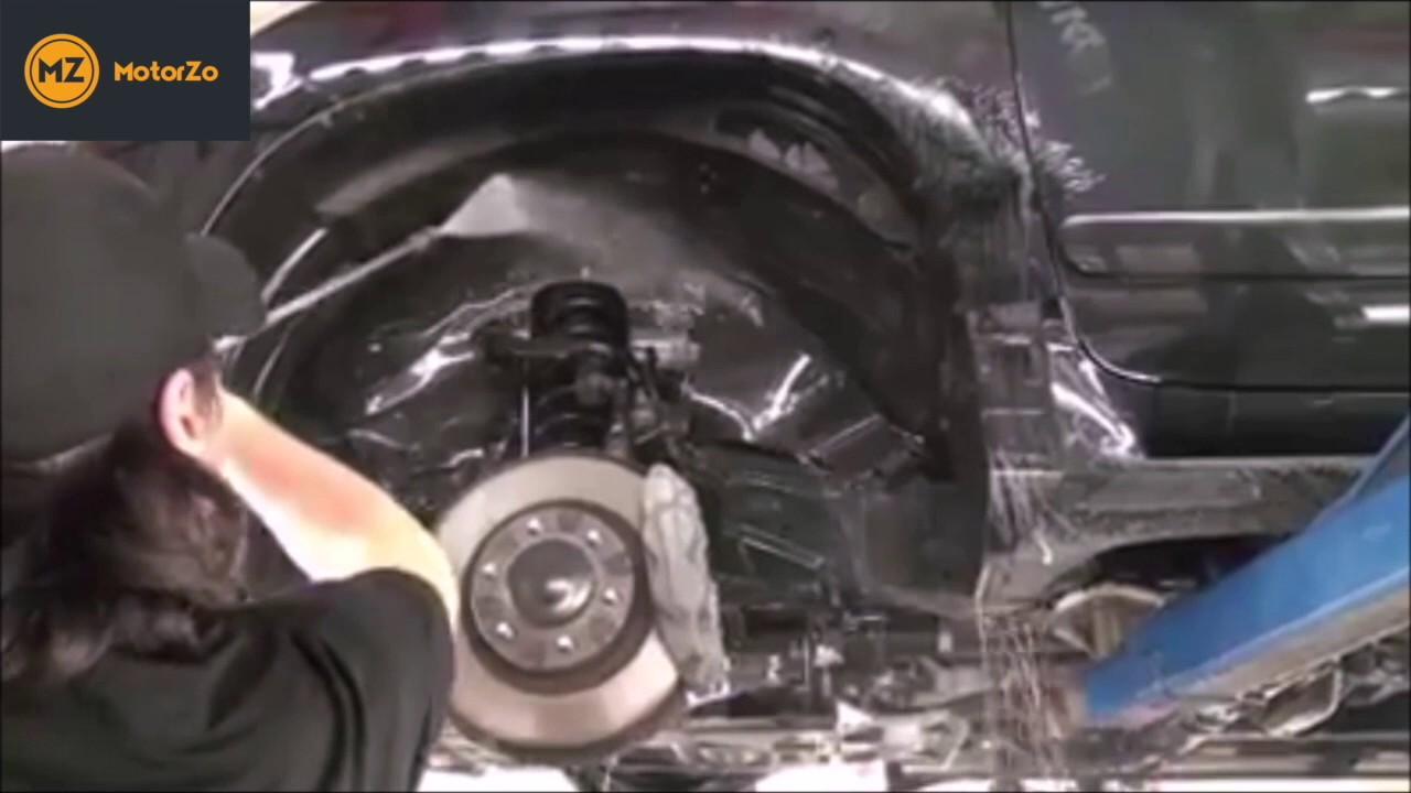Car Underbody Protection By Waxoyl