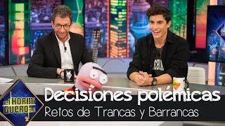 Las 'polémicas' decisiones de Marc Márquez en el juego de Trancas y Barrancas - El hormiguero 3.0