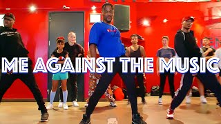 """Britney Spears Feat Madonna - """"Me Against The Music"""" 