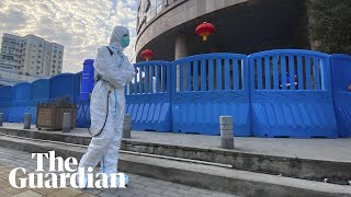 World Health Organization investigators hold Covid news conference in Wuhan – watch live