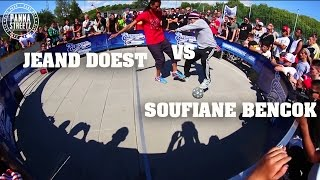 European Street Cup 2013 panna 1vs1: Soufiane Bencok vs Jeand Doest