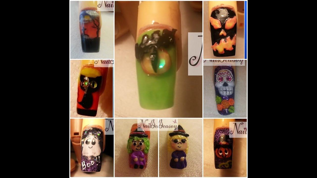 Uñas De Halloween Decoradas Faciles De Hacer / Galeria De