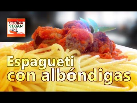 Albondigas Opskrift vegan meatballs/ albóndigas veganas - youtube
