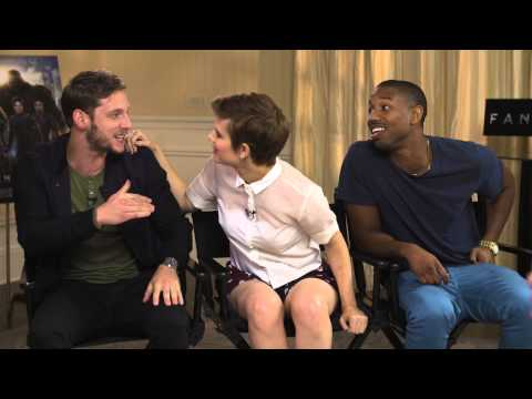 Kristin Sits Down With The Fantastic Four!