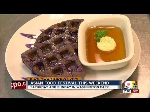 Asian food festival this weekend