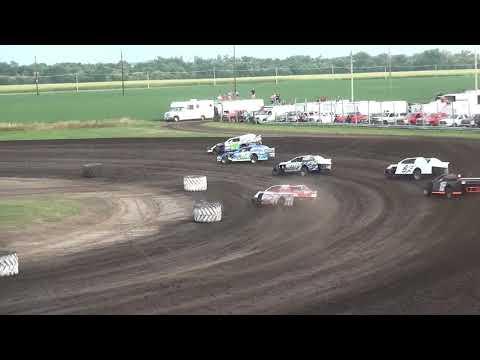 IMCA Sport Mod Heat 2 Benton County Speedway 8/11/19