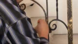 видео Балконы из чугуна и ограждения балкона в Москве.