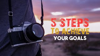 5 steps to achieve our goal How to achive our goals ( tamil ) vignu krithik