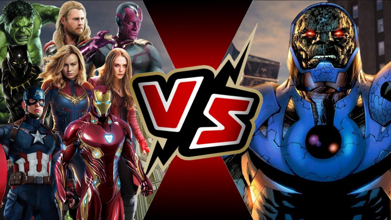 Avengers Vs Darkseid Battle Arena Youtube