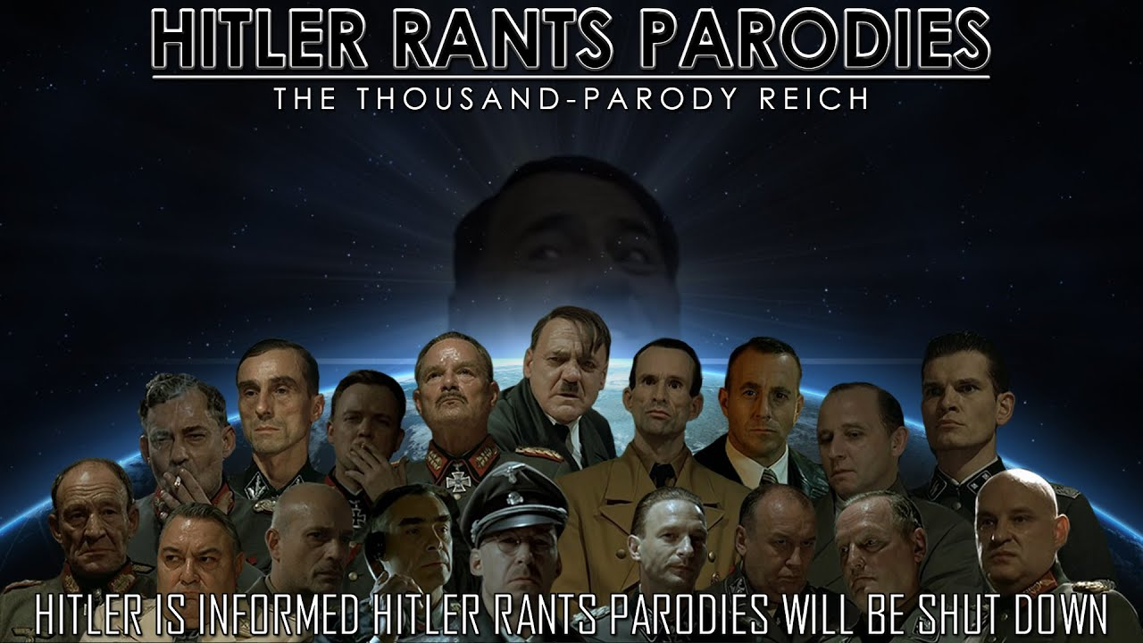 Hitler is informed Hitler Rants Parodies will be shut down