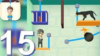 Rescue Cut - Rope Puzzle - Gameplay Walkthrough Part 15 All Levels 401-434 (Android Gameplay)