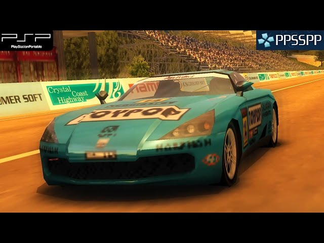 Ridge Racer 2 - PSP Gameplay 1080p (PPSSPP)