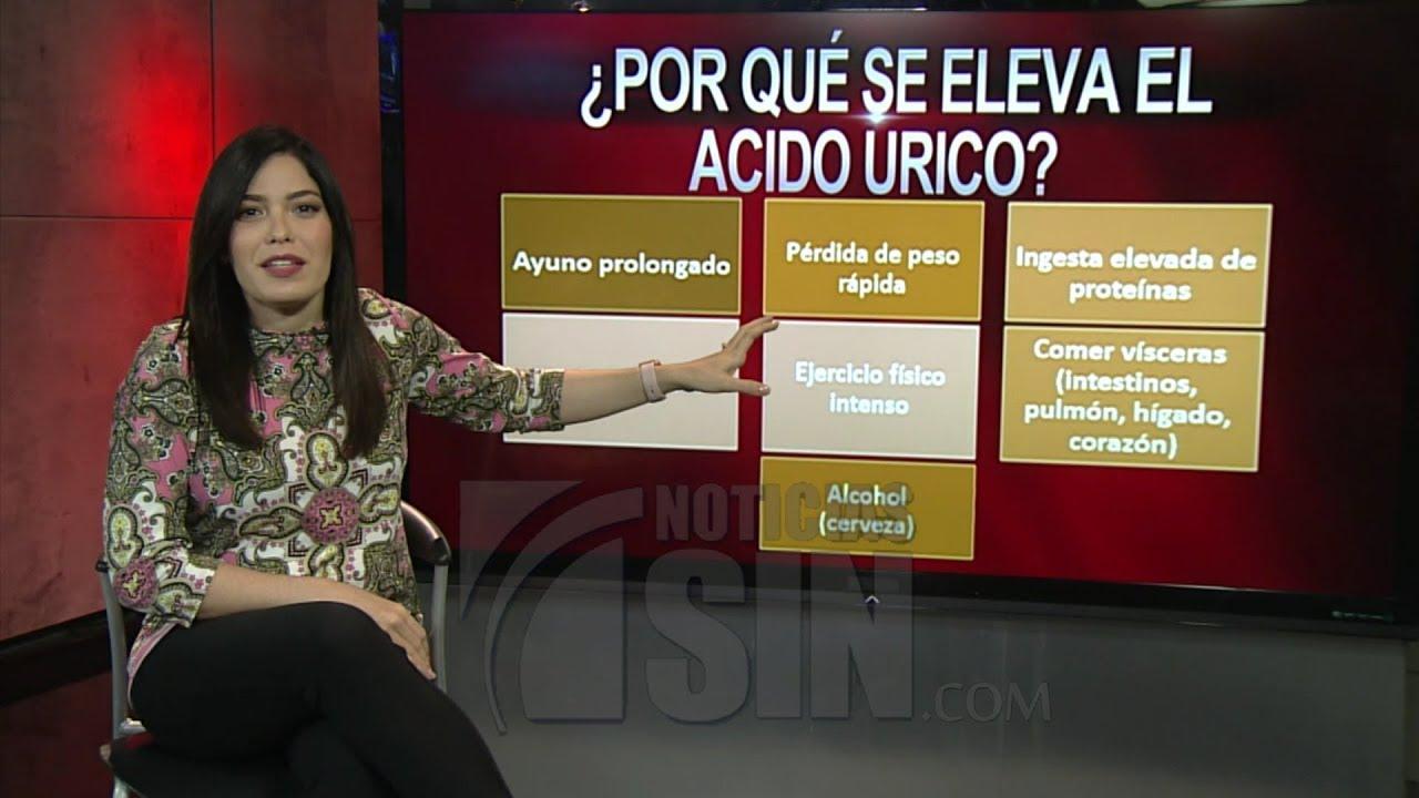 consecuencias del exceso de acido urico en el organismo