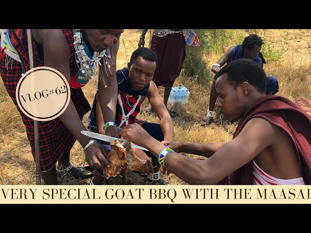 Maasai Tribe Tanzania | A very special Goat-BBQ with the Maasai | Makasa Tanzania Safari | VLOG #62