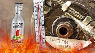 Xado 1 Stage Maximum Dodatki do olejów Analiza Test Tarcia 100°C
