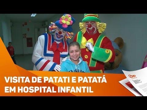 Patati e Patatá visitam hospital infantil - TV SOROCABA/SBT