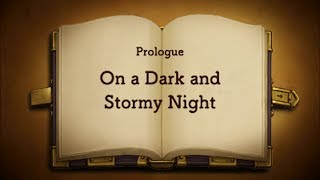 Professor Layton vs. Ace Attorney #01 ~ Prologue - On a Dark and Stormy Night