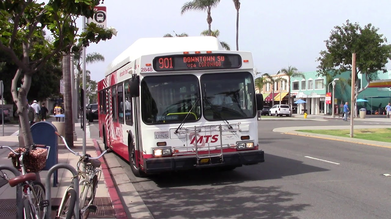 Repeat MTS Bus - New Flyer C40LF Route 901 #2848 by N Ford
