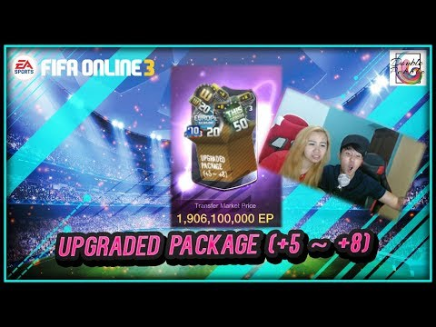 ~ GG Liverpool~ Upgraded Package (+5 ~ +8) Opening - FIFA ONLINE 3