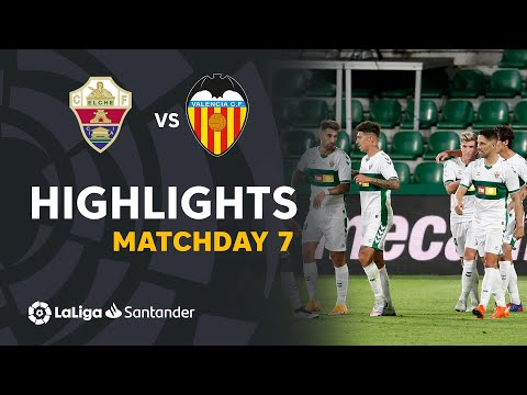Elche Valencia Goals And Highlights