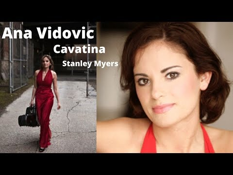 Ana Vidovic Plays Cavatina By Stanley Myers On A Jim Redgate Guitar