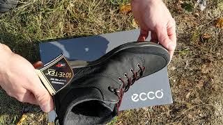видео Мужские ботинки ECCO
