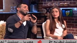 قناة الحياة 2  - خلاصة الكلام - اغنية بصلى وانت بتتكلم لايف احمد سعد