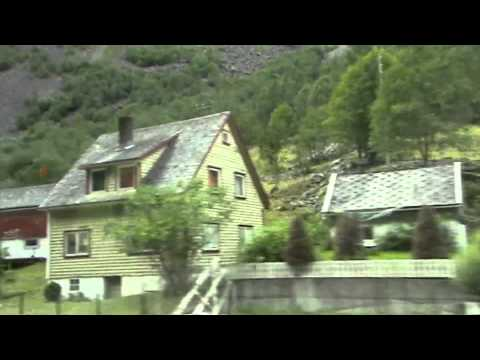 HAMAR-FLAM-GUDVANGEN-BERGEN, NORWAY, A Short Summer Holiday.