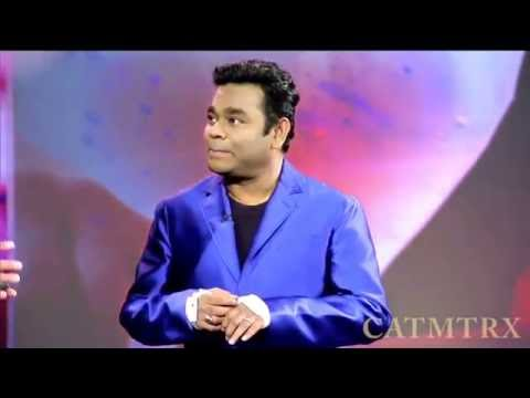 A R Rahman performing at CES 2016 On Jai Ho without instruments