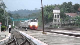 Kereta Api Taksaka - Stasiun Karangsari