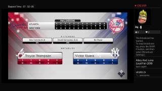 MLB THE SHOW 18- Franchise- Braves Vs Yankees Game 1-2
