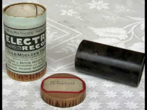 phonograph cylinder Electric record